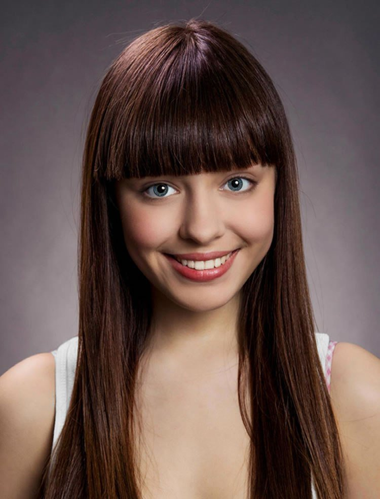 The Best 100 Cute Inspiration Hairstyles With Bangs For Long Round Pictures