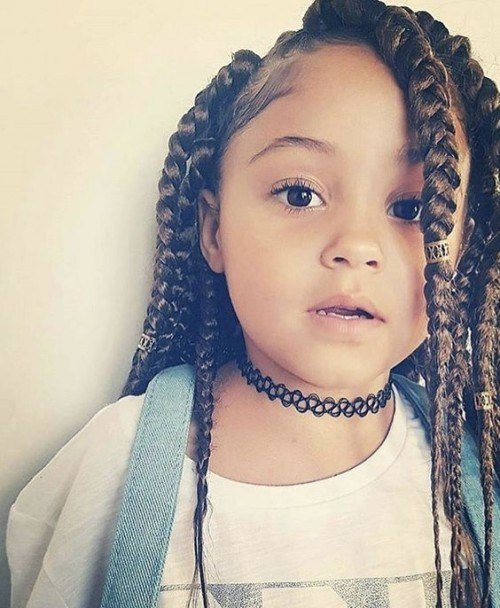 The Best 40 Cute Hairstyles For Black Little Girls Herinterest Com Pictures