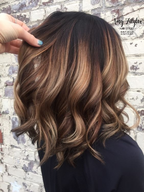 The Best 50 Fun Summer Hair Color For Brunettes Blondes Koees Blog Pictures