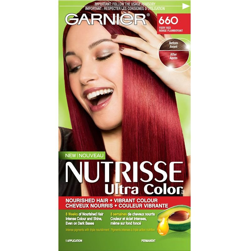 The Best Garnier Nutrisse Ultra Color Permanent Hair Colour 660 Fiery Red London Drugs Pictures