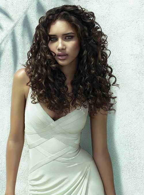 The Best 35 Long Layered Curly Hair Hairstyles And Haircuts Lovely Hairstyles Com Pictures