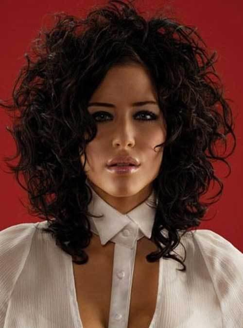 The Best 35 Medium Length Curly Hair Styles Hairstyles And Haircuts Lovely Hairstyles Com Pictures