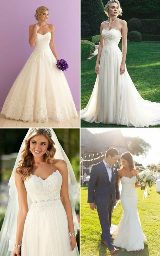 The Best Wedding Hairstyle Inspiration For Wedding Dresses Of 7 Pictures