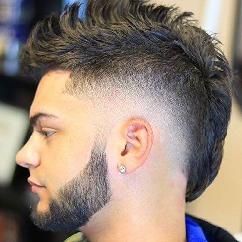 The Best Mohawk Fade Haircut 2019 Men S Haircuts Hairstyles 2019 Pictures