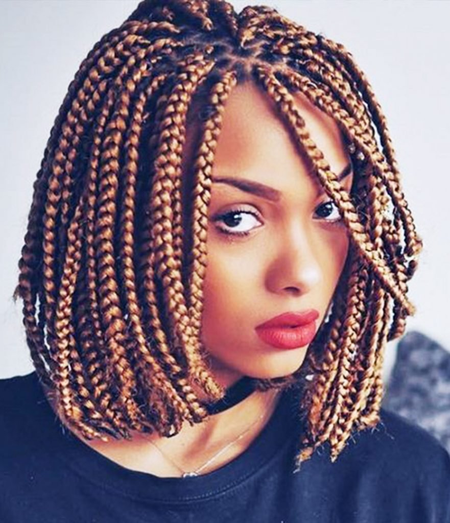 The Best 14 Dashing Box Braids Bob Hairstyles For Women New Pictures
