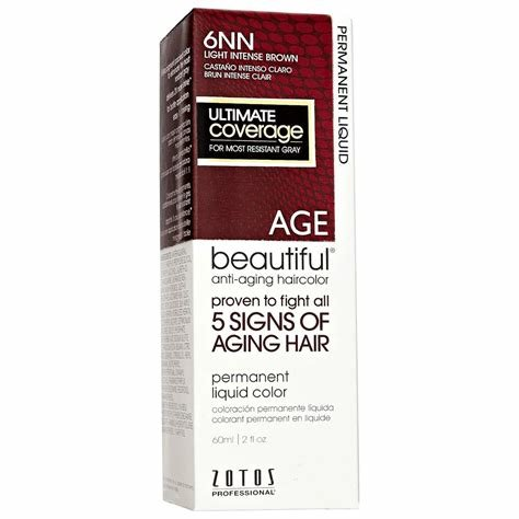 The Best Agebeautiful Anti Aging Permanent Liquid Haircolor 6Nn Pictures