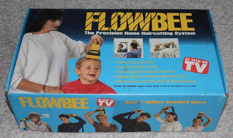 The Best Flowbee Precision Home Hair Cutting System Complete In Box Ebay Pictures