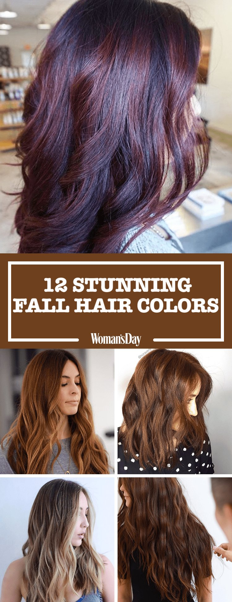 The Best 12 Fall Hair Colors 2017 Best Hair Dyes For Autumn Pictures