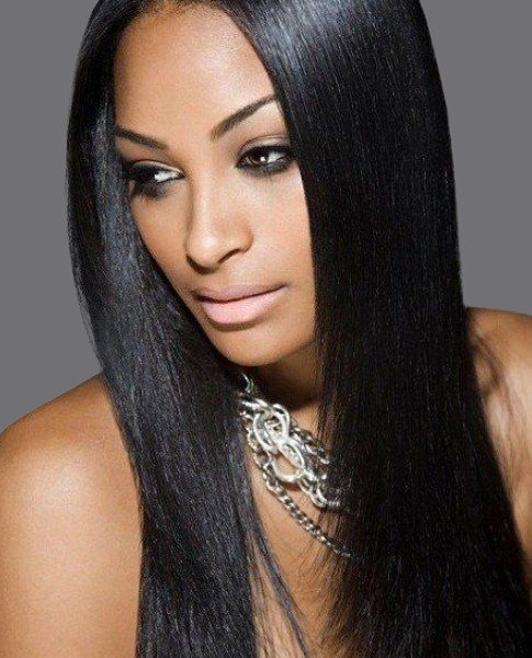 The Best V*Rg*N Remy Sew In Weave Hair Extensions Yaki Relaxed Straight Brazilian Malaysian Indian Pictures