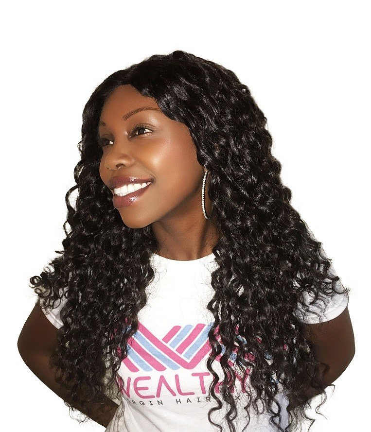 The Best V*Rg*N Remy Sew In Weave Hair Extensions Island Curly Pictures
