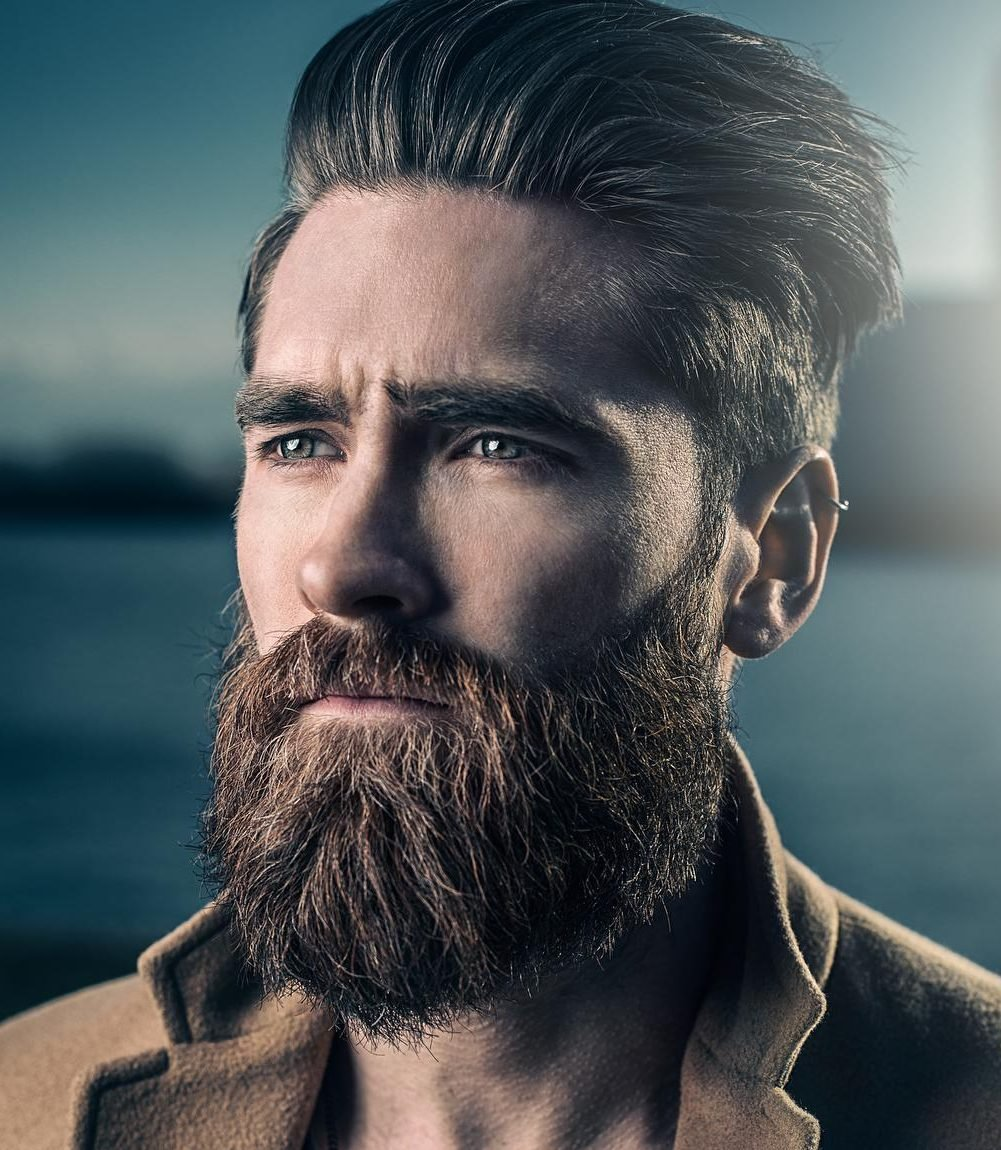 The Best Cool Men S Hairstyles With Beards Pictures