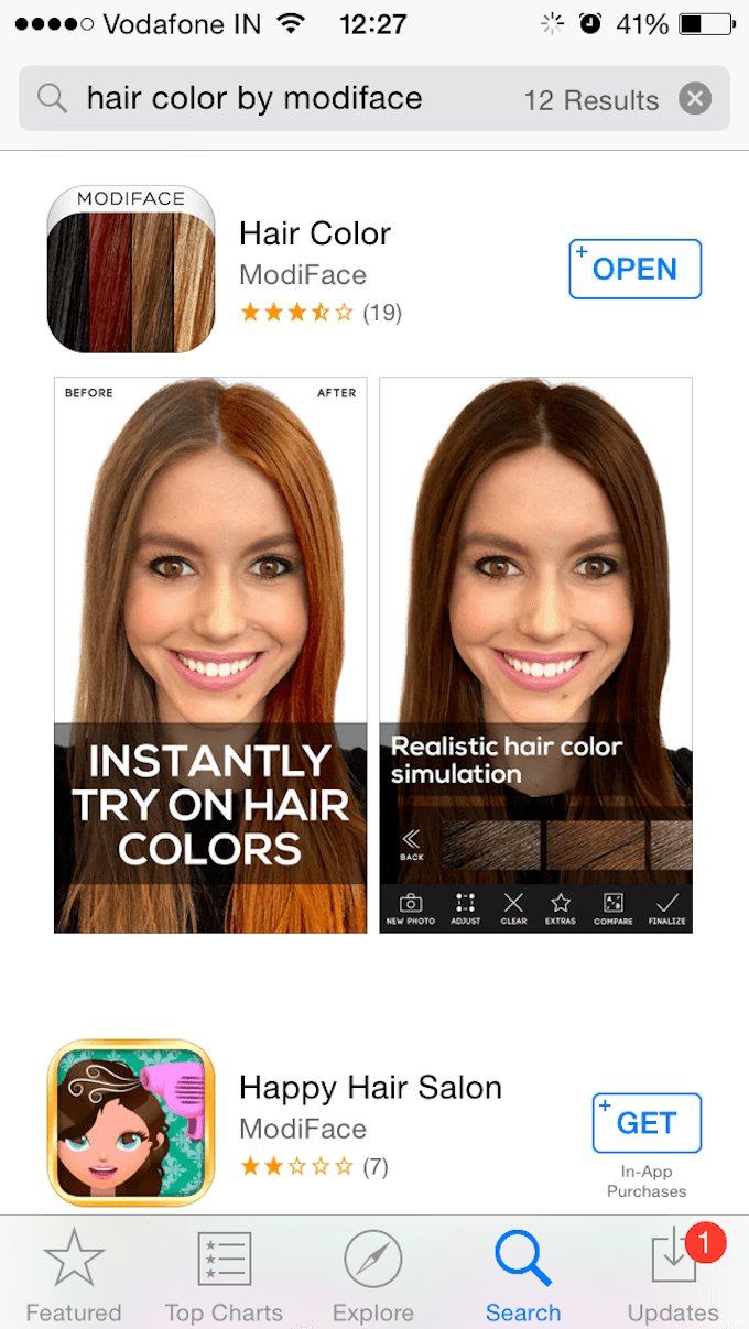 The Best Tech Tuesday You Can Now Test Any Hair Color In Less Than Pictures