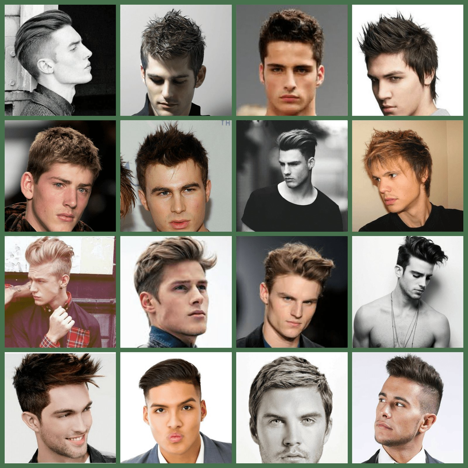 The Best Styles For Men Chart » New Medium Hairstyles Pictures