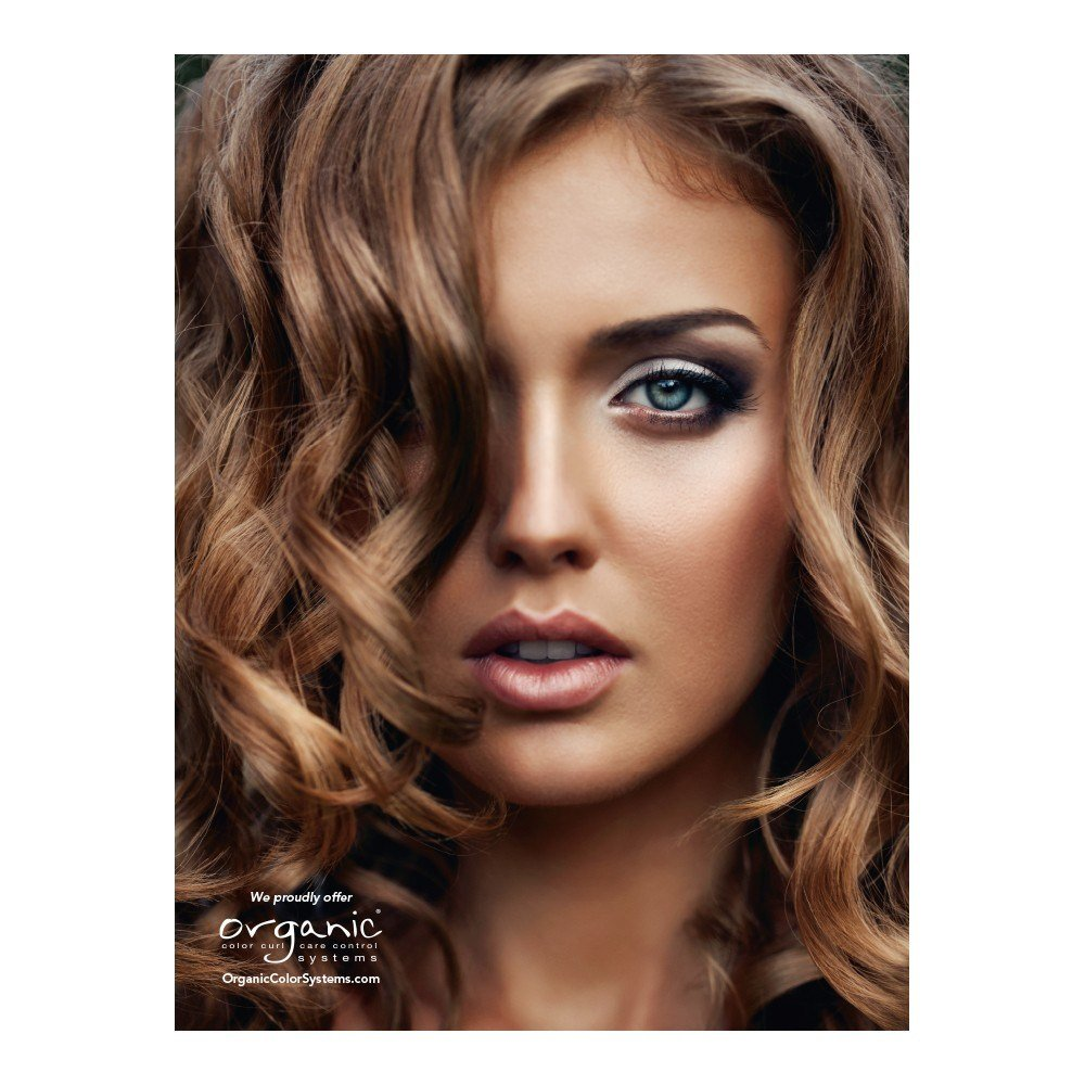 The Best Organic Salon Products Glamour Poster Of Multidimensional Brunette Organic Hair Color Pictures