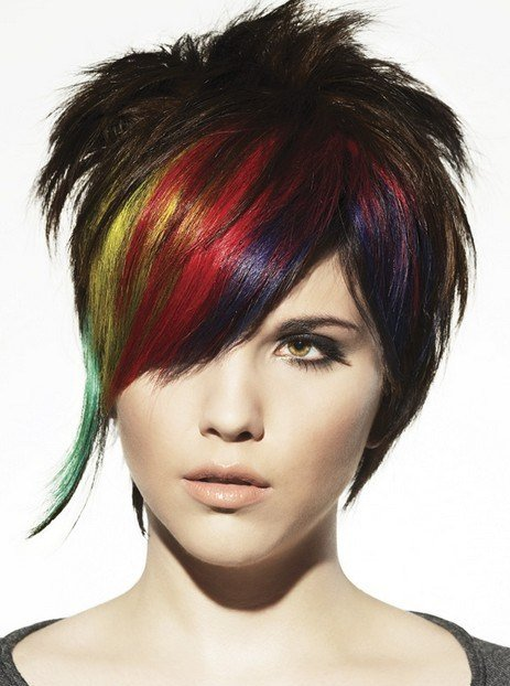 The Best Punk Hairstyles For Women Stylish Punk Hair Photos Pictures