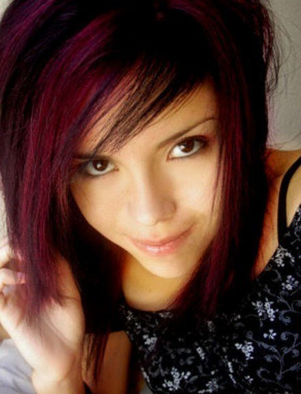 The Best Emo Hairstyles For Girls Latest Popular Emo Girls Haircuts Pictures Pretty Designs Pictures