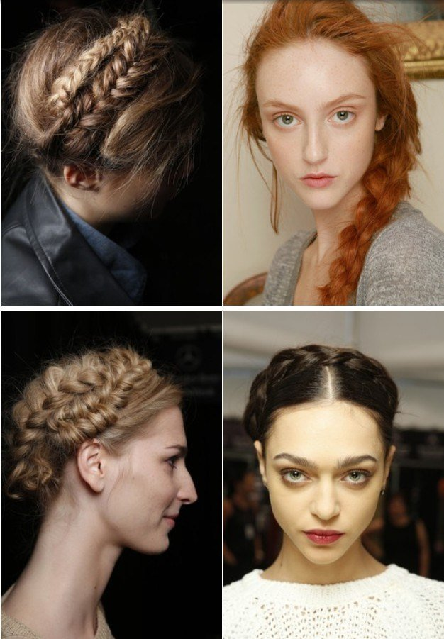 The Best Hairstyle Trend From Fashion Shows Hairstyles For 2014 Pictures