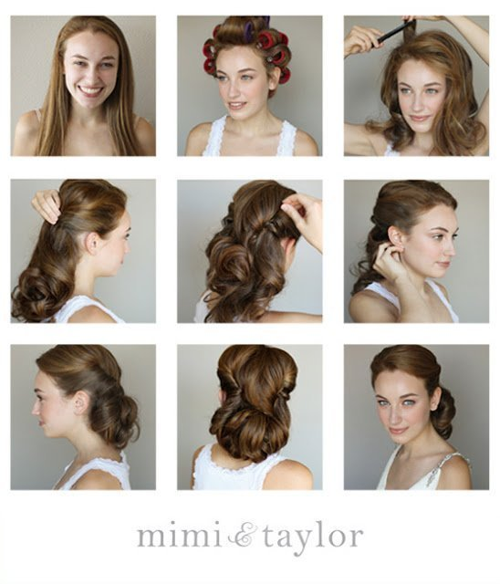 The Best 14 Glamorous Retro Hairstyle Tutorials Pretty Designs Pictures