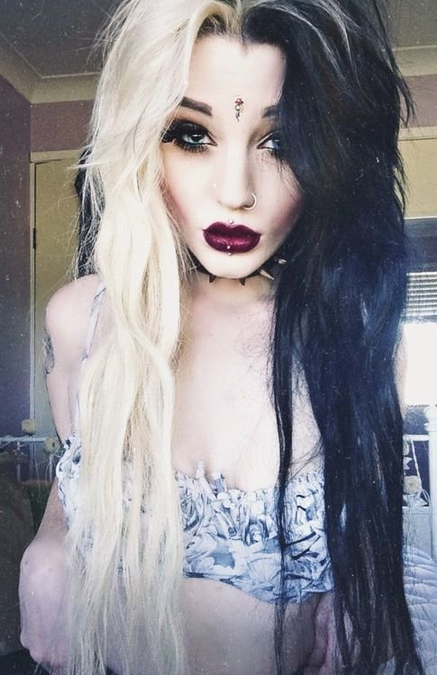 The Best 12 Edgy Chic Black And Blonde Hairstyles Pretty Designs Pictures