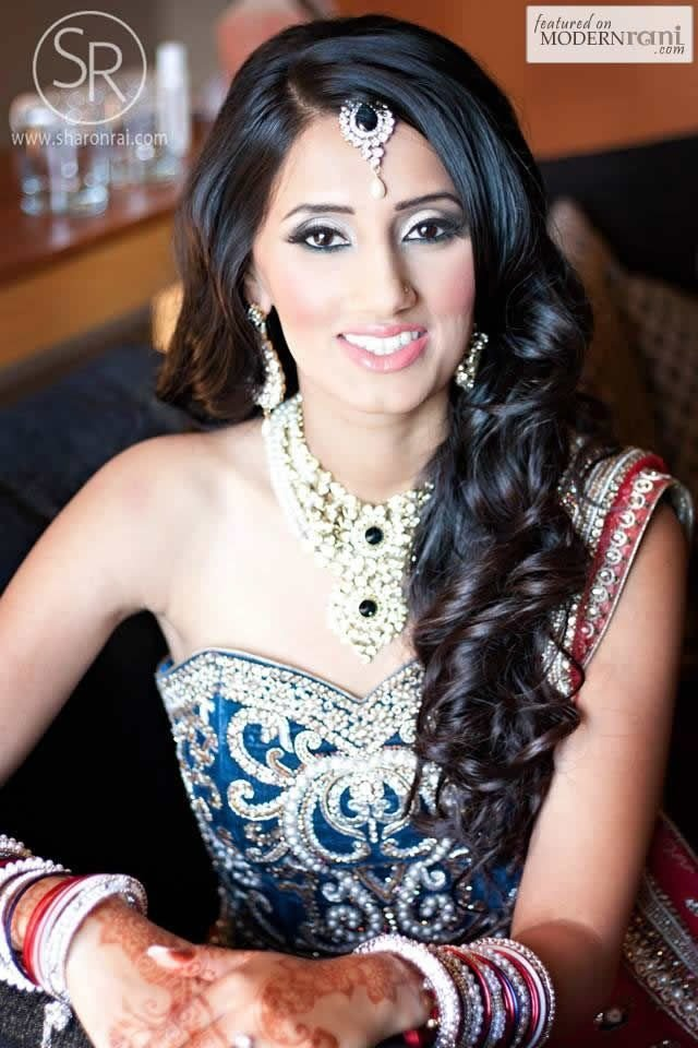 The Best 16 Glamorous Indian Wedding Hairstyles Pretty Designs Pictures