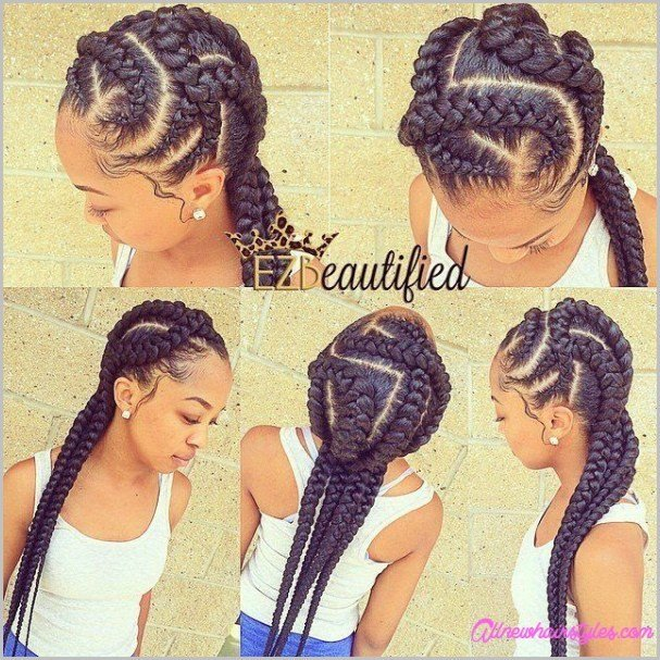 The Best Braids Hairstyles For Teenagers Allnewhairstyles Com Pictures