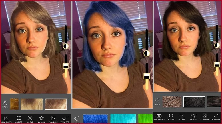 The Best Change Your Hair Color Apps Androiddig Com Pictures