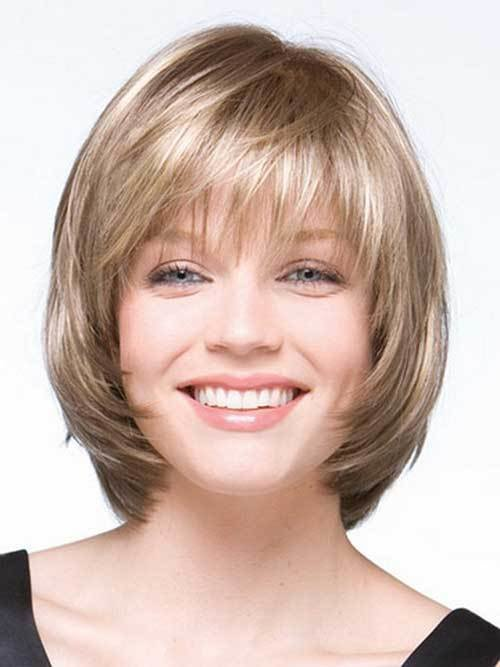 The Best 10 Layered Bob Haircuts For Round Faces Bob Hairstyles Pictures