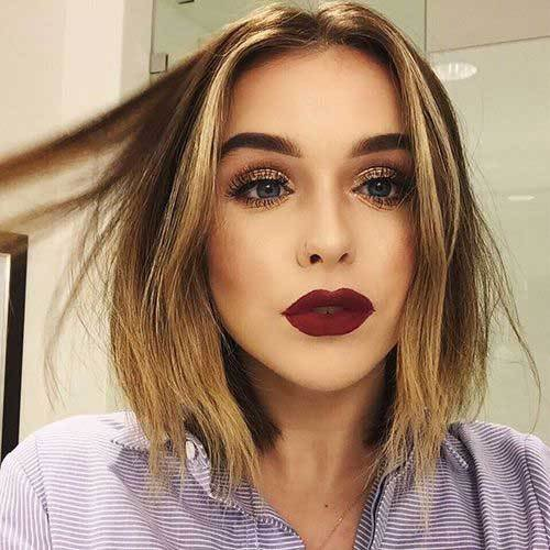 The Best New Trend Blunt Bob Haircut Pictures Bob Hairstyles 2018 Pictures