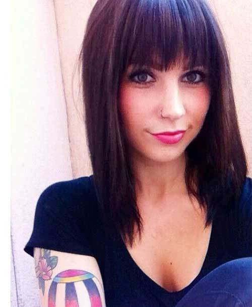 The Best 20 New Dark Brown Bob Bob Hairstyles 2018 Short Pictures