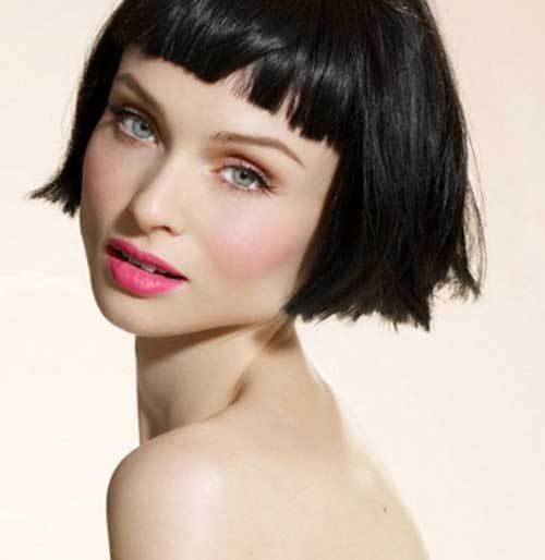 The Best 30 Super Short Bob Hairstyles With Bangs Bob Hairstyles Pictures