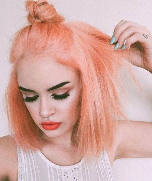 The Best Peach Hair Is Here What To Know About This V*V*D New Pictures