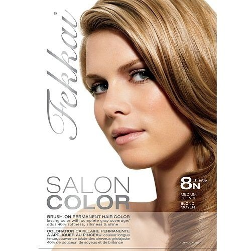 The Best Frederic Fekkai Salon Color 8N Medium Blonde Christie By Pictures