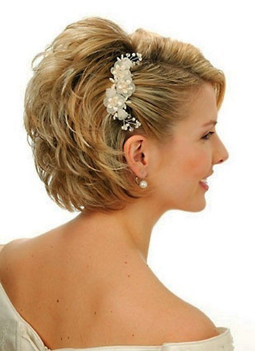 The Best 25 Best Wedding Hairstyles For Short Hair 2012 2013 Short Hairstyles 2018 2019 Most Pictures