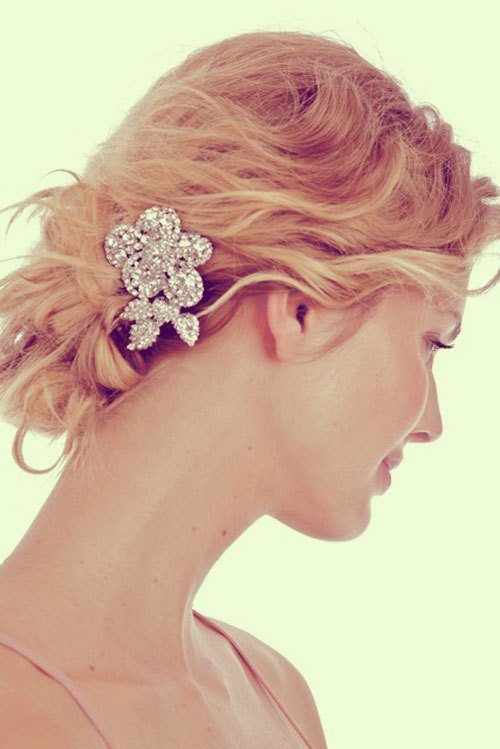 The Best Short Wedding Hairstyles For Fine Hair Short Hairstyles Pictures