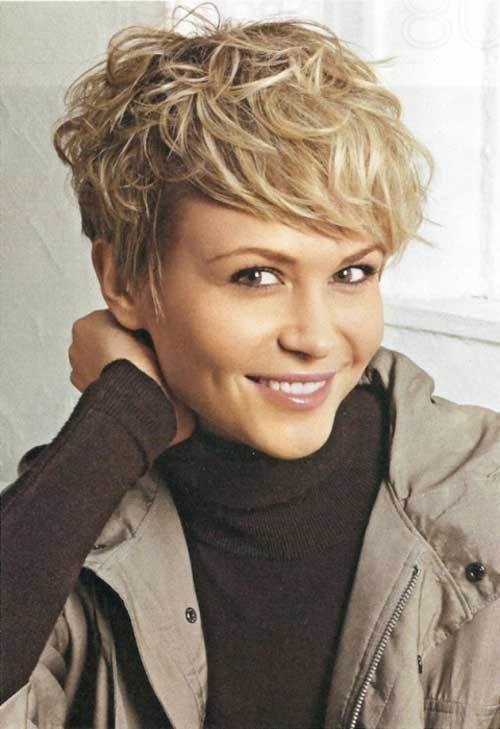 The Best 25 Short Wavy Hair Pictures Short Hairstyles 2018 2019 Pictures