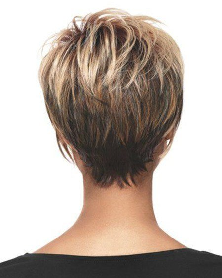 The Best Back View Of Short Haircuts Short Hairstyles 2018 2019 Pictures