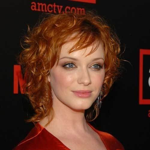 The Best Celebrity Short Curly Hairstyles Short Hairstyles 2018 Pictures