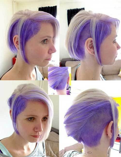 The Best Two Tone Hair Color For Short Hair Short Hairstyles 2018 2019 Most Popular Short Pictures