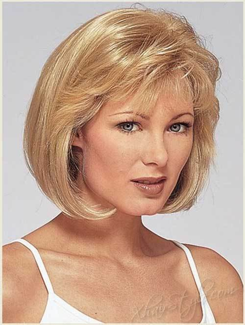 The Best Bob Cuts For Round Faces Short Hairstyles 2017 2018 Pictures