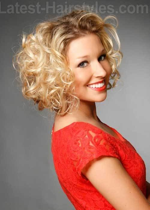 The Best 15 Easy Hairstyles For Short Curly Hair Short Hairstyles Pictures