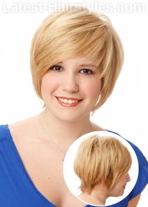 The Best Short Haircuts For Chubby Faces Short Hairstyles 2018 Pictures