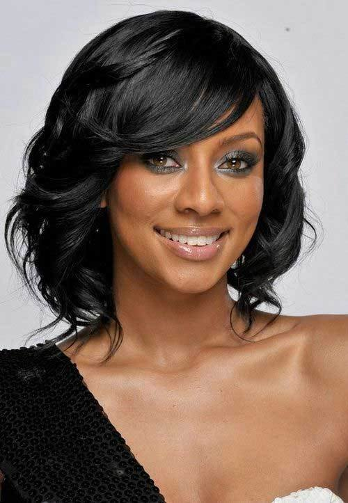 The Best 15 New Short Hairstyles With Bangs For Black Women Short Pictures