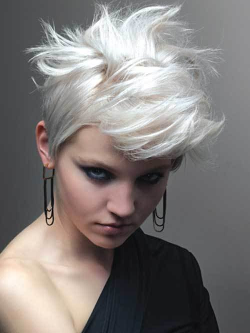 The Best 20 Best Short Bleached Blonde Hair Short Hairstyles 2017 Pictures