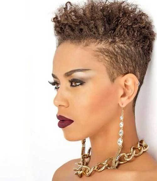 The Best 20 Pixie Cut For Black Women Short Hairstyles 2018 Pictures