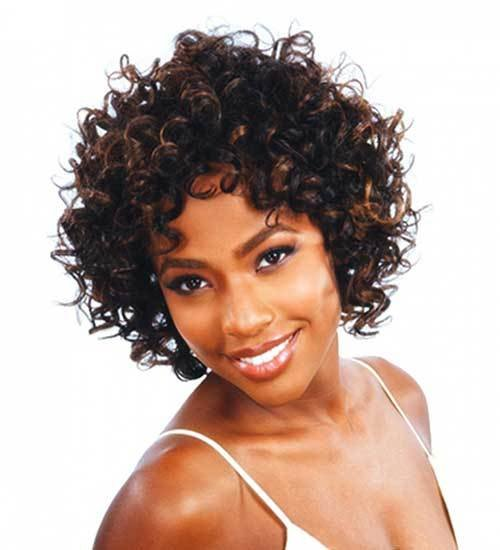 The Best 15 New Short Curly Weave Hairstyles Short Hairstyles 2018 2019 Most Popular Short Pictures
