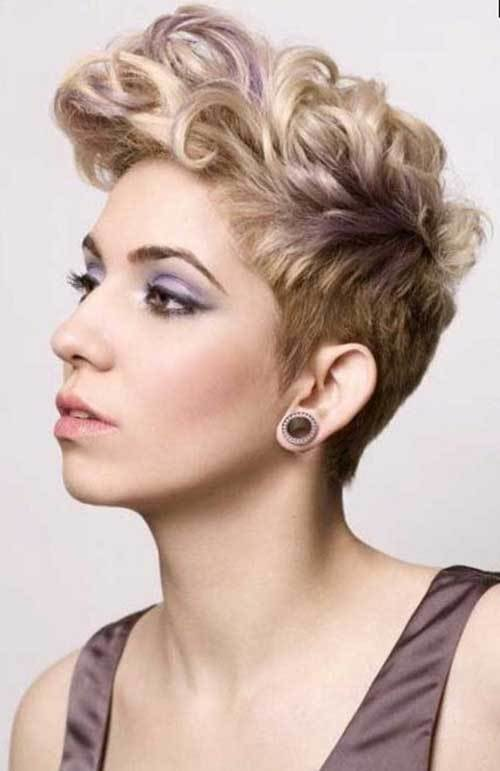 The Best 15 Cute Curly Hairstyles For Short Hair Short Pictures