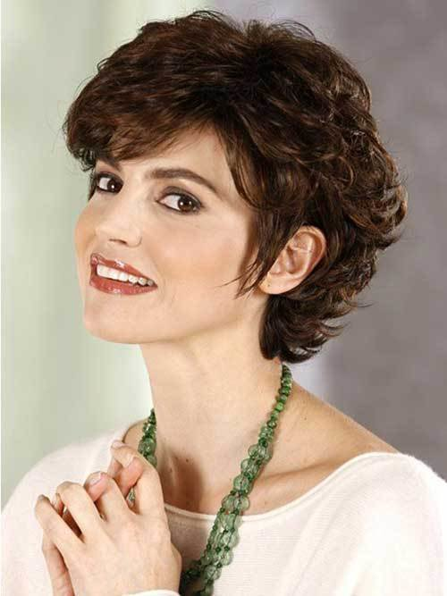 The Best 15 Short Curly Hair For Round Faces Short Hairstyles Pictures