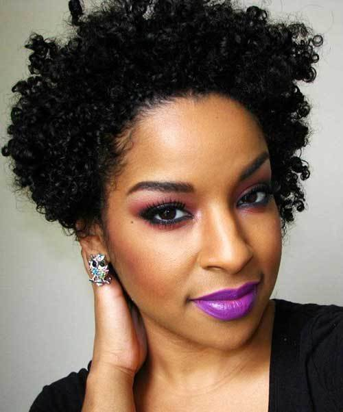 The Best 25 Short Curly Afro Hairstyles Short Hairstyles 2017 Pictures
