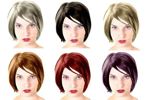 The Best Change Hair Color Online Pictures