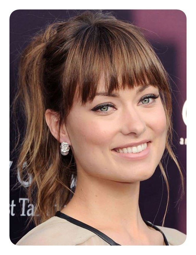 The Best 97 Amazing Ponytail With Bangs Hairstyles Pictures Original 1024 x 768